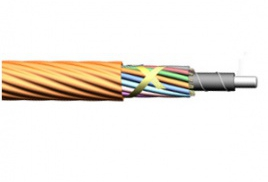 Layer stranded nylon sheathed microcable