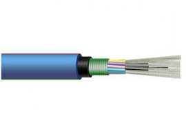 Layer twisted mining cable